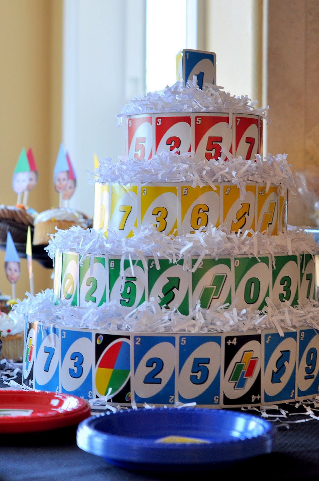 Best ideas about Uno Birthday Party . Save or Pin Craftily Ever After Max s UNO themed First Birthday Party Now.