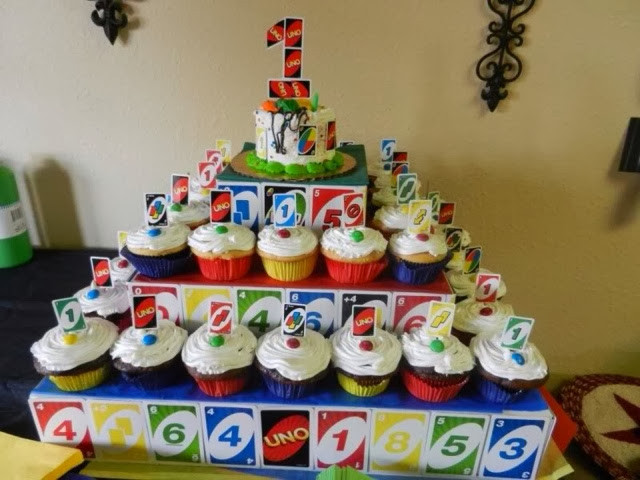 Best ideas about Uno Birthday Party . Save or Pin Mom Upcycles Thrifty Uno First Birthday Party Theme Now.