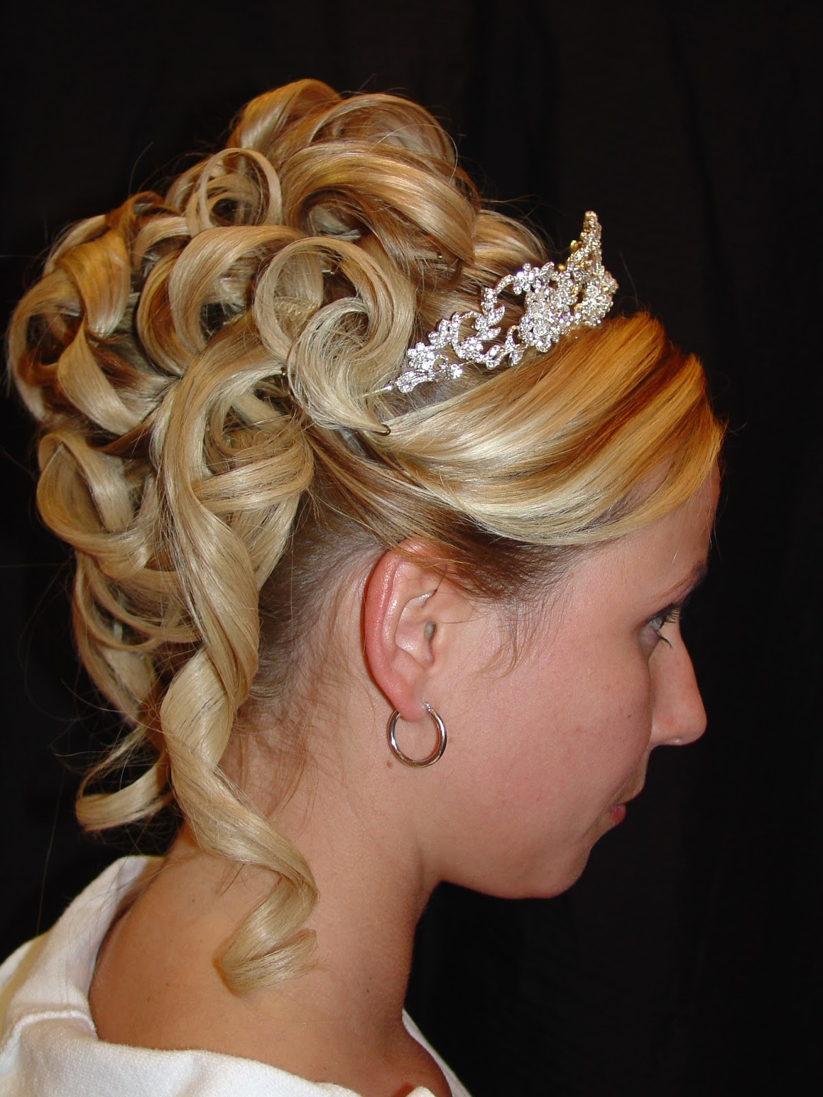 Best ideas about Updo Hairstyle . Save or Pin Style Dhoom Special Events UpDo Wedding Hairstyles Now.