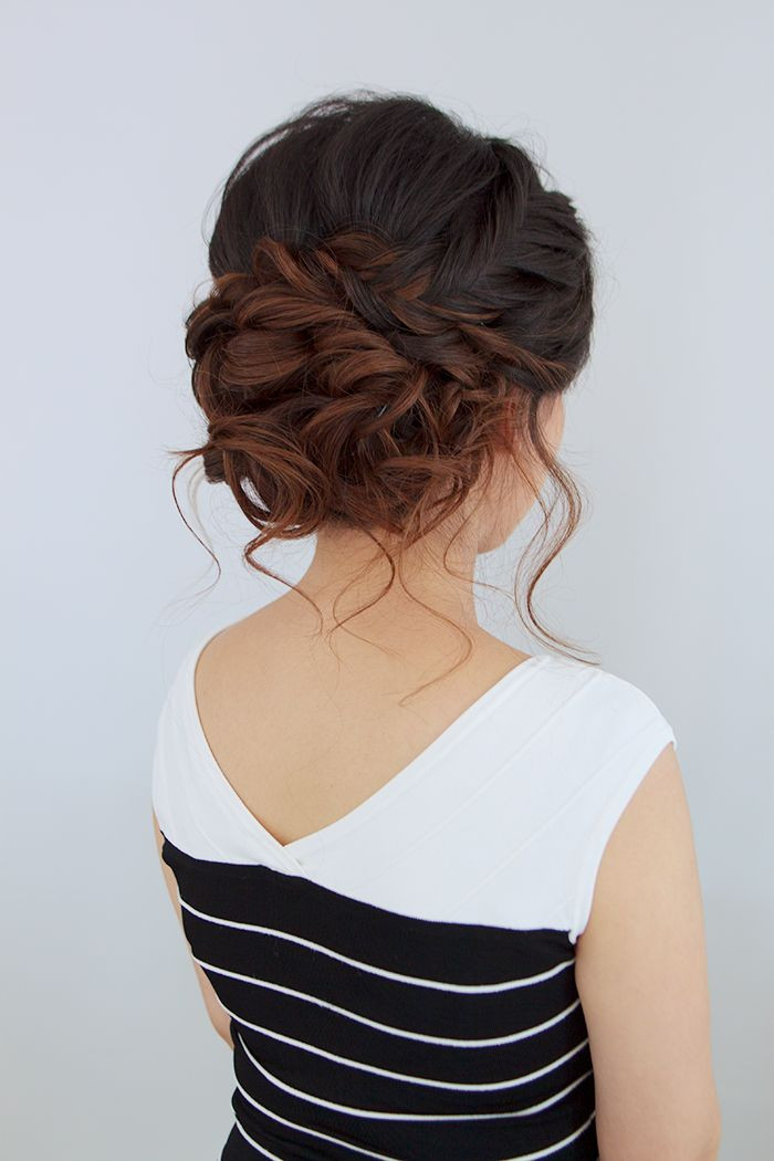 Best ideas about Updo Hairstyle . Save or Pin 25 best ideas about Wedding Updo on Pinterest Now.