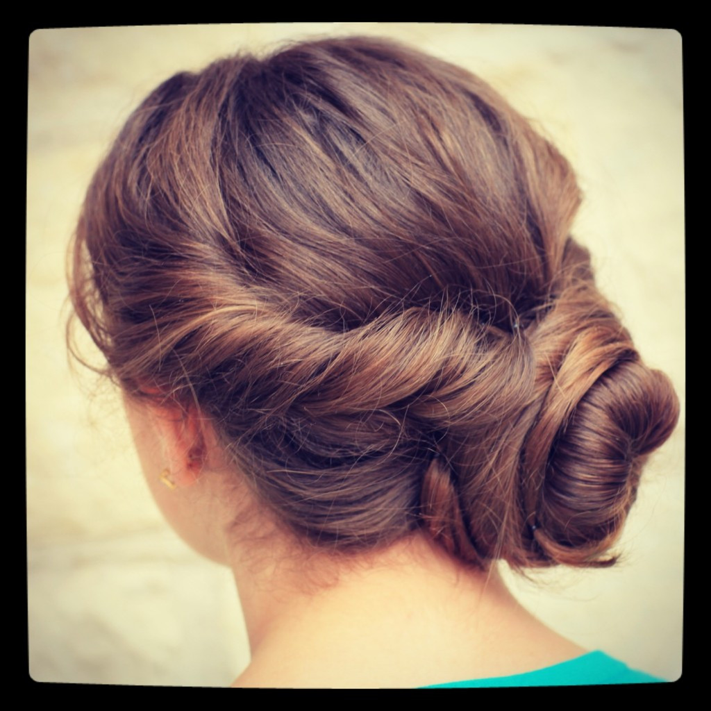 Best ideas about Updo Hairstyle . Save or Pin Easy Twist Updo Prom Hairstyles Now.