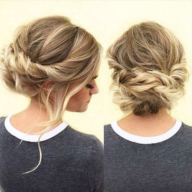 Best ideas about Updo Hairstyles For Prom . Save or Pin 31 Most Beautiful Updos for Prom Page 2 of 3 Now.