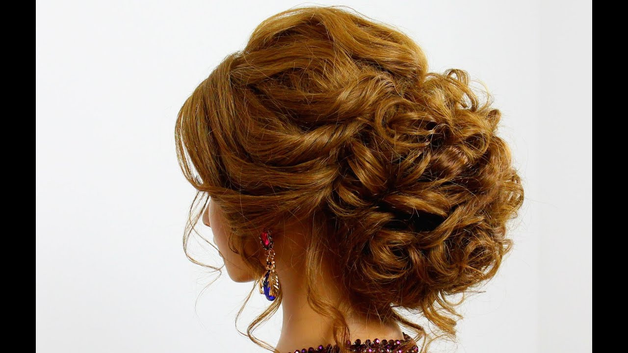 Best ideas about Updo Hairstyles For Prom . Save or Pin Hairstyle for long hair Prom updo Now.