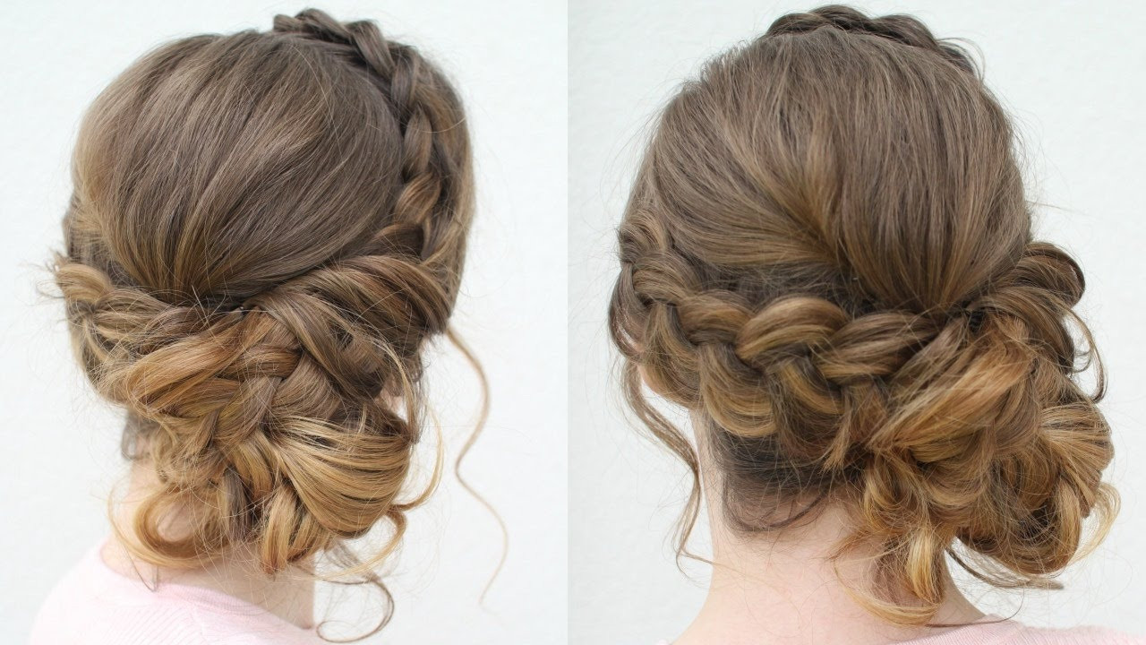 Best ideas about Updo Hairstyles For Prom . Save or Pin DIY Prom Updo 2018 Prom Hairstyles Now.