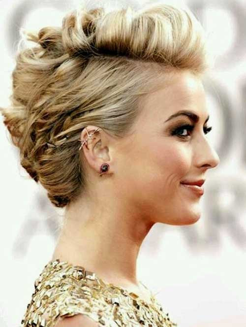 Best ideas about Updo Hairstyles For Short Hair . Save or Pin Short Hair Updos For Prom Now.