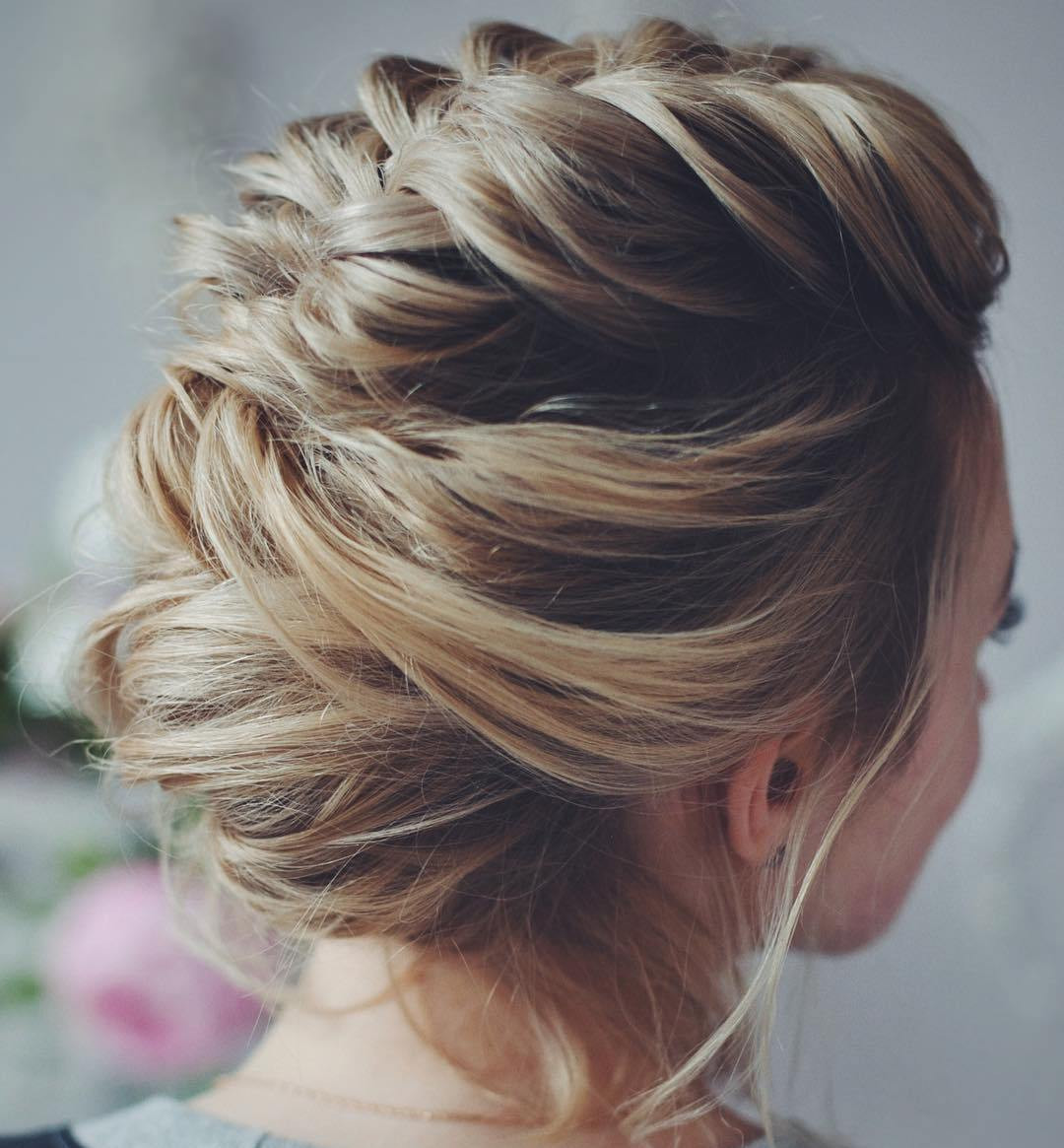Best ideas about Updo Hairstyles For Short Hair . Save or Pin 50 Hottest Prom Hairstyles for Short Hair Now.