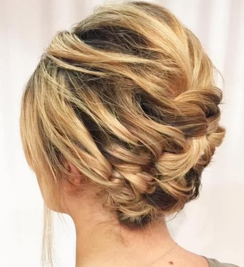 Best ideas about Updo Hairstyles For Short Hair . Save or Pin 60 Updos for Short Hair – Your Creative Short Hair Inspiration Now.