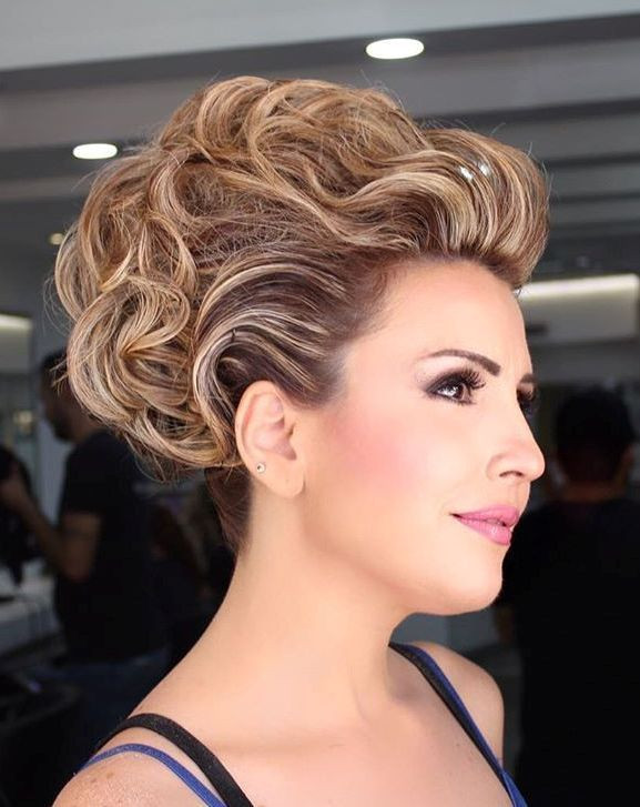"""Best ideas about Updo Hairstyles For Short Hair . Save or Pin 40 Best Short Wedding Hairstyles That Make You Say """"Wow """" Now."""