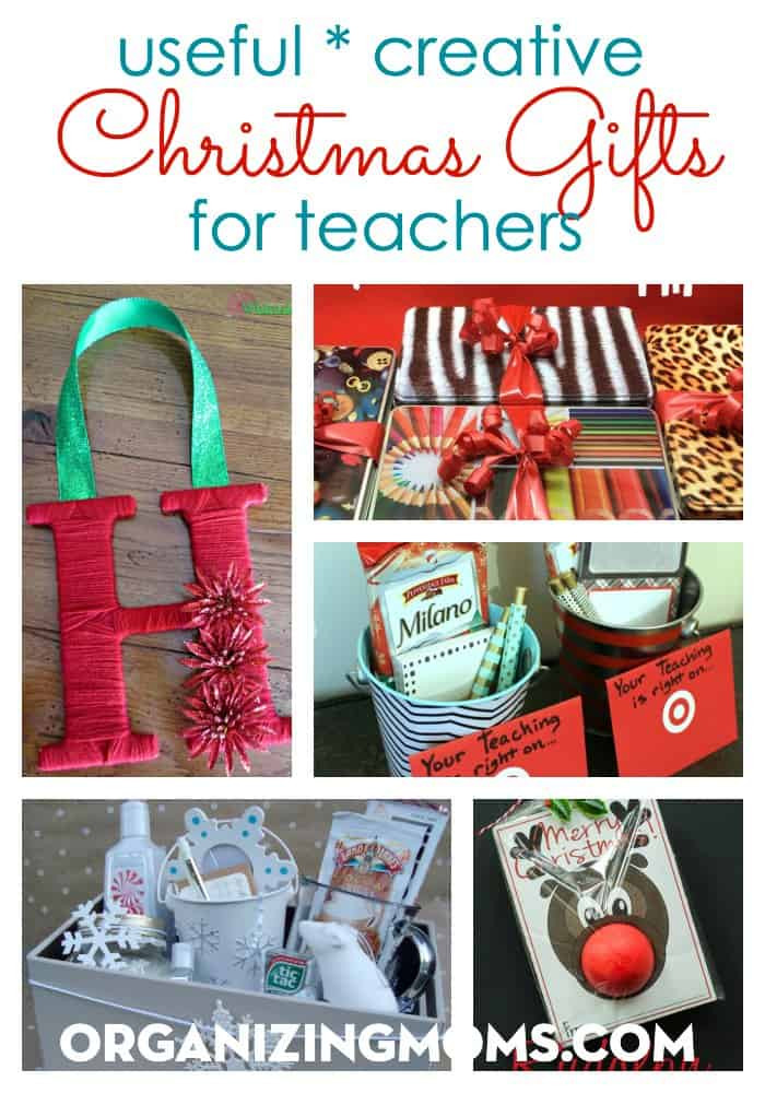 Best ideas about Useful Gift Ideas . Save or Pin Useful Creative Christmas Gifts for Teachers Organizing Moms Now.