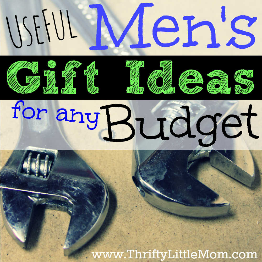Best ideas about Useful Gift Ideas . Save or Pin Useful Men s Gift Ideas for any Bud Thrifty Little Mom Now.