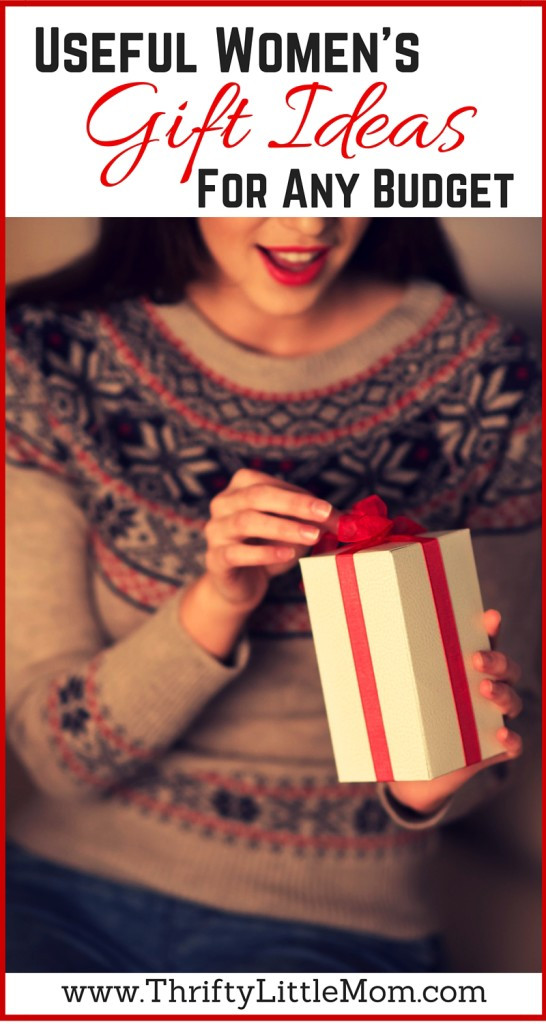 Best ideas about Useful Gift Ideas . Save or Pin Useful Women s Gift Ideas For Any Bud Thrifty Little Mom Now.