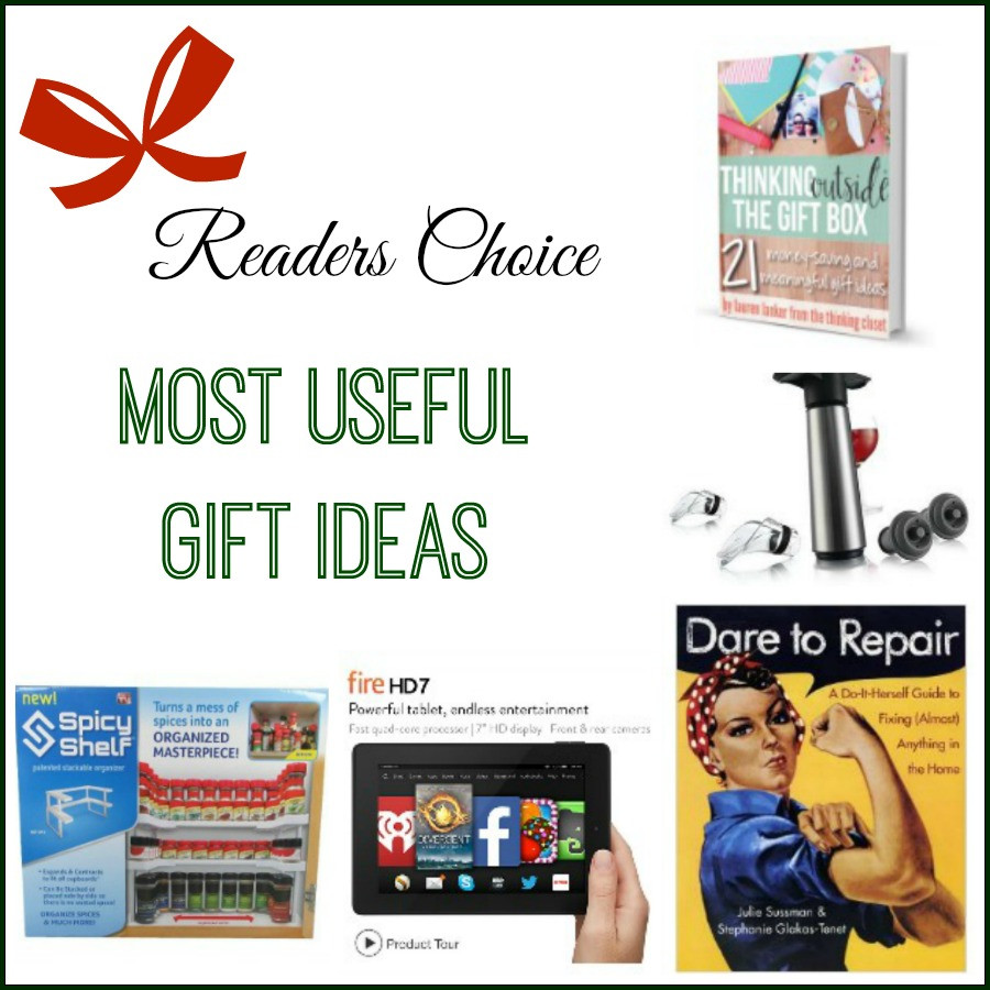 Best ideas about Useful Gift Ideas . Save or Pin Most Useful Christmas Gift Ideas Now.