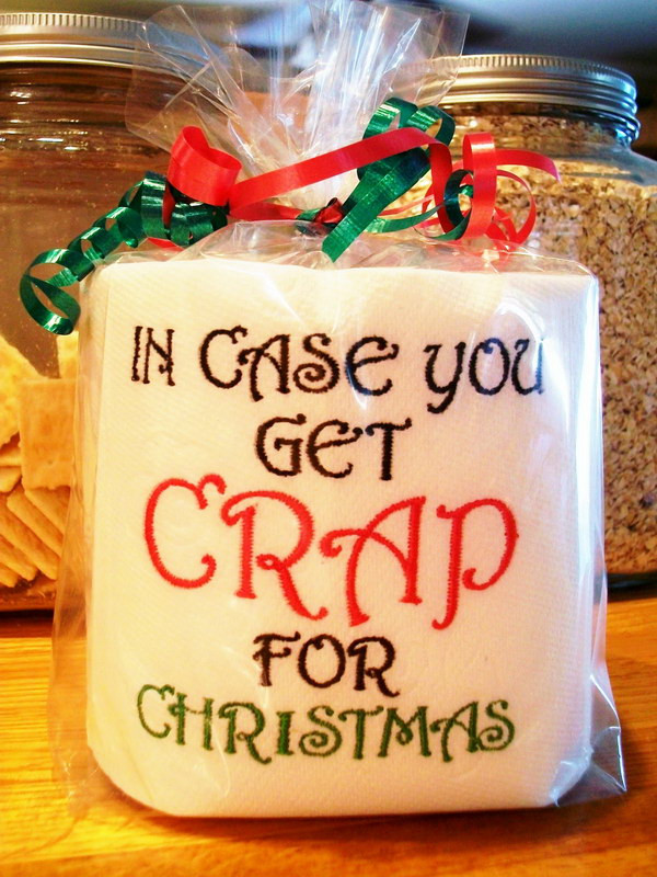 Best ideas about Useful White Elephant Gift Ideas . Save or Pin 20 Funny Gag Gifts for White Elephant Party Now.