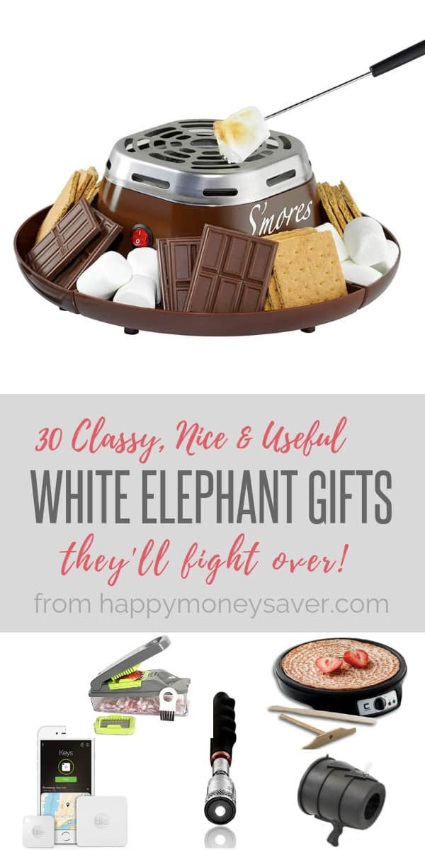 Best ideas about Useful White Elephant Gift Ideas . Save or Pin 30 Classy Nice & Useful White Elephant Gifts They ll Fight For Now.