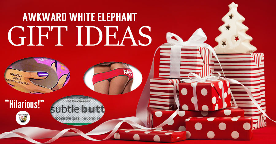 Best ideas about Useful White Elephant Gift Ideas . Save or Pin Hilarious And Awkward White Elephant Gift Ideas That Are Now.