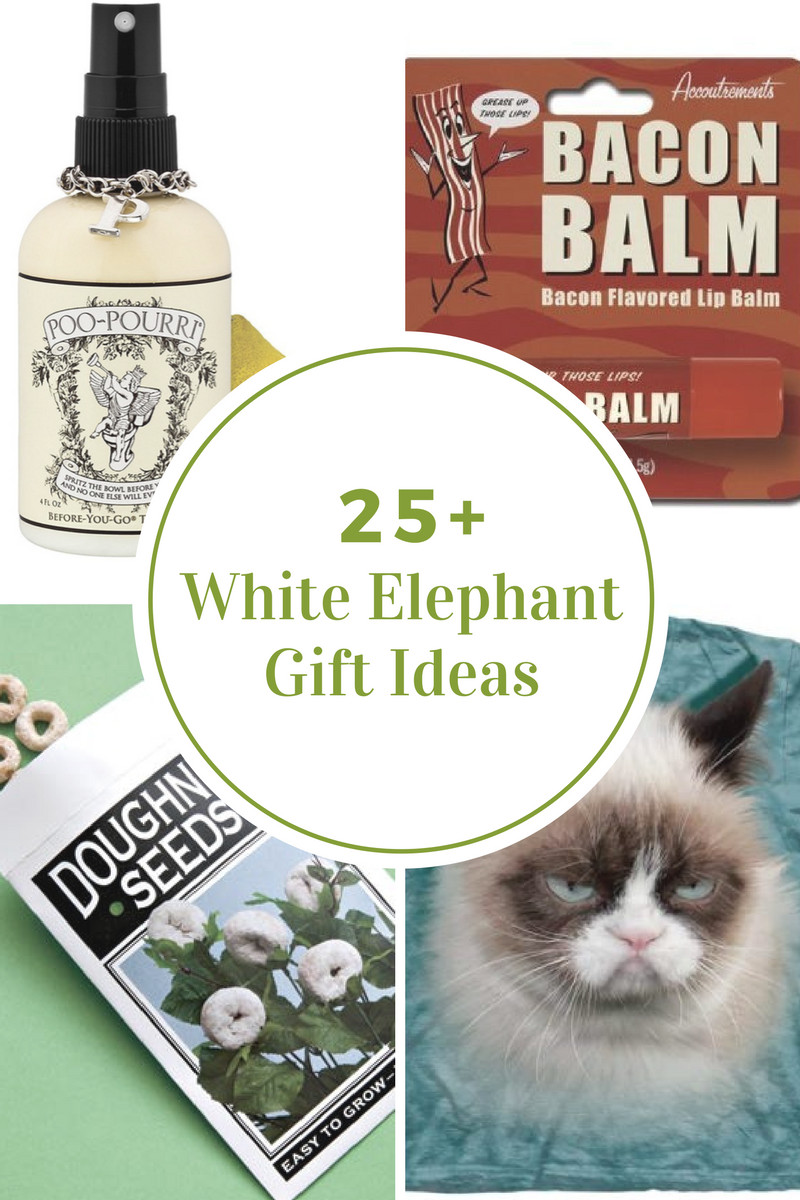 Best ideas about Useful White Elephant Gift Ideas . Save or Pin White Elephant Gift Ideas The Idea Room Now.