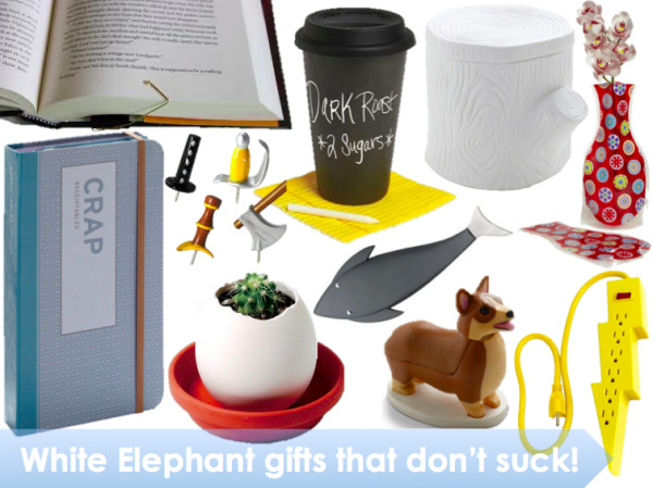 Best ideas about Useful White Elephant Gift Ideas . Save or Pin White elephant ts people will actually LIKE Now.