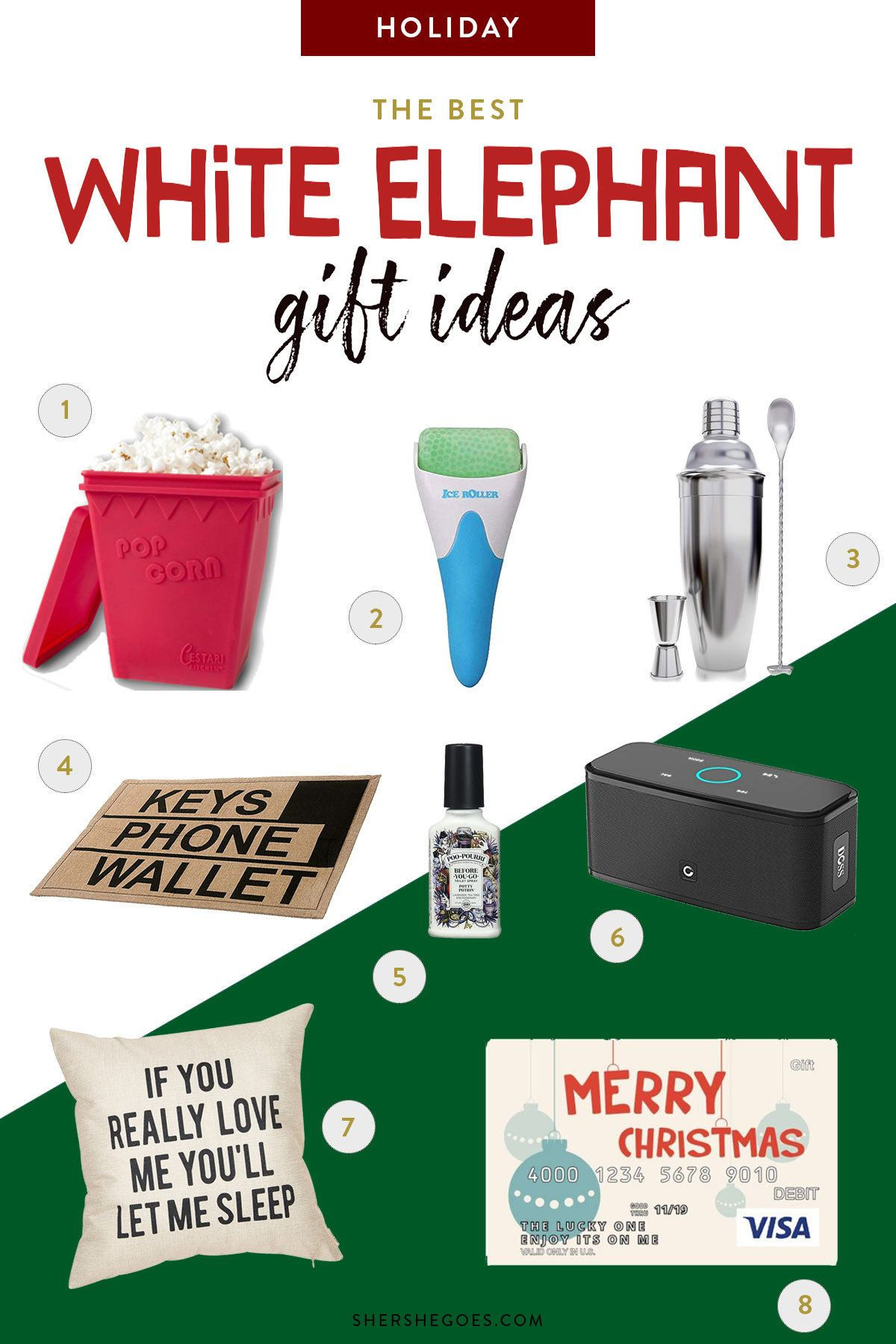 Best ideas about Useful White Elephant Gift Ideas . Save or Pin 20 Serious White Elephant Gift Ideas that Everyone Will Want Now.