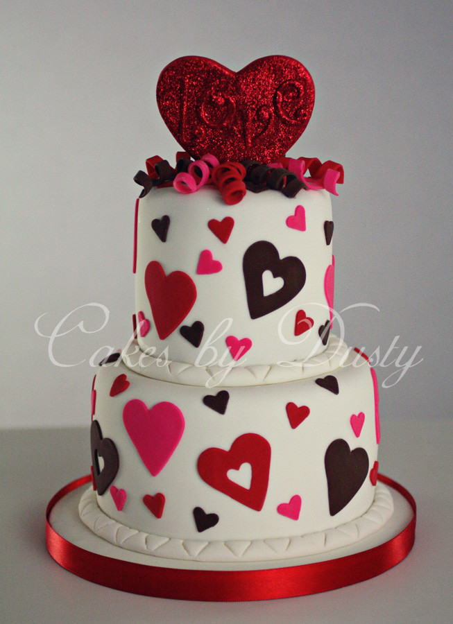 Best ideas about Valentine Birthday Cake . Save or Pin Cakes by Dusty February 2012 Now.