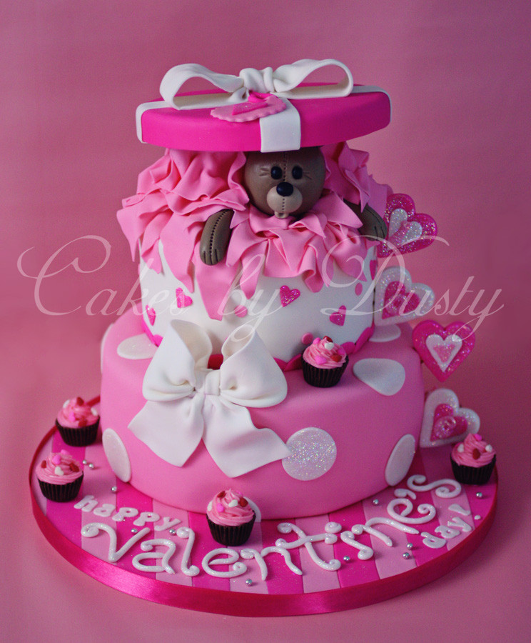 Best ideas about Valentine Birthday Cake . Save or Pin Cakes by Dusty Happy Valentine s Day Now.