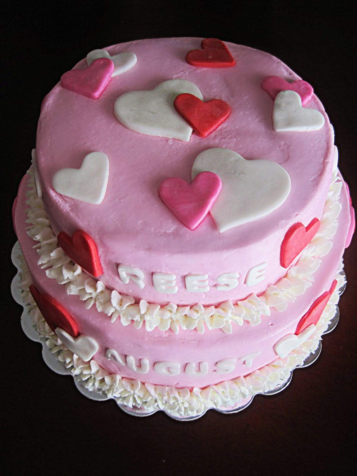 Best ideas about Valentine Birthday Cake . Save or Pin Have a Piece of Cake Valentine s Theme Birthday Cake Now.