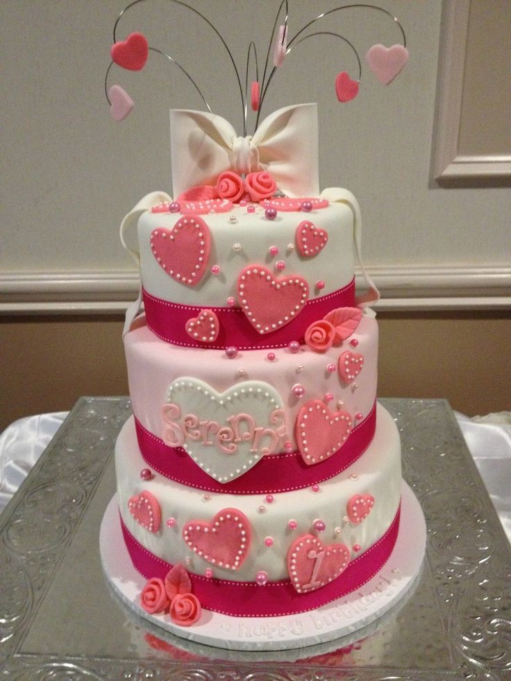 Best ideas about Valentine Birthday Cake . Save or Pin 18 best images about cakes on Pinterest Now.