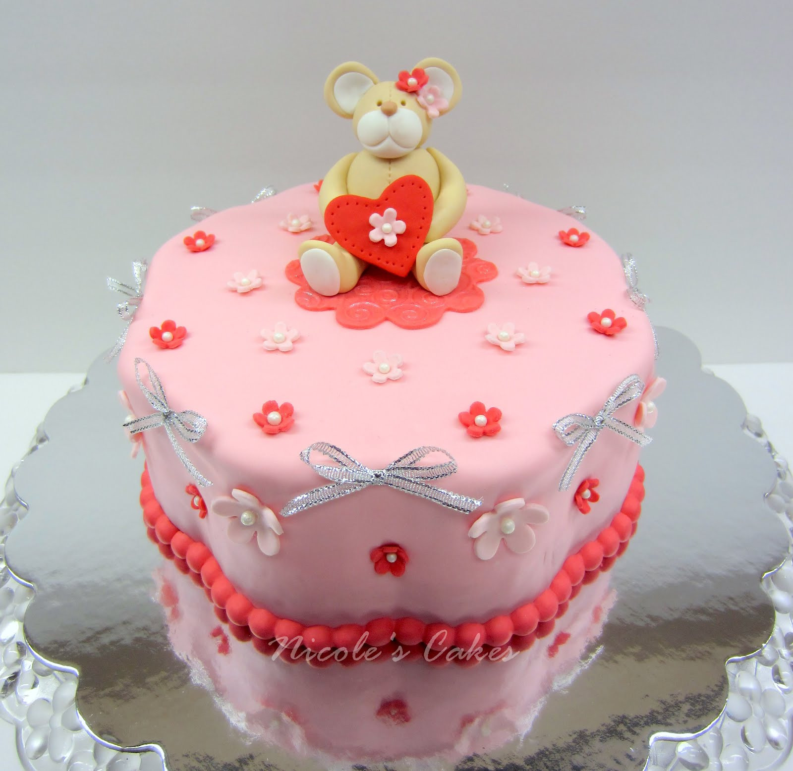 Best ideas about Valentine Birthday Cake . Save or Pin Confections Cakes & Creations A Valentine s Birthday Cake Now.