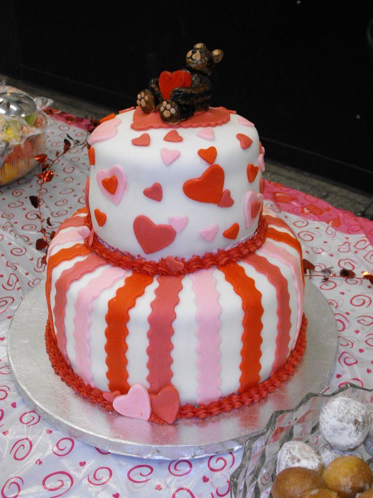 Best ideas about Valentine Birthday Cake . Save or Pin Valentines cake may try to make as my final cake for Now.
