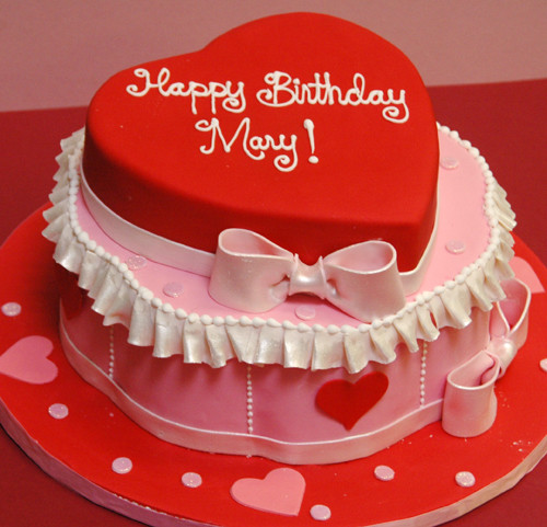Best ideas about Valentine Birthday Cake . Save or Pin WEL E TO JOHNDAMAS CAKE HAPPY BIRTDAY CAKES Now.