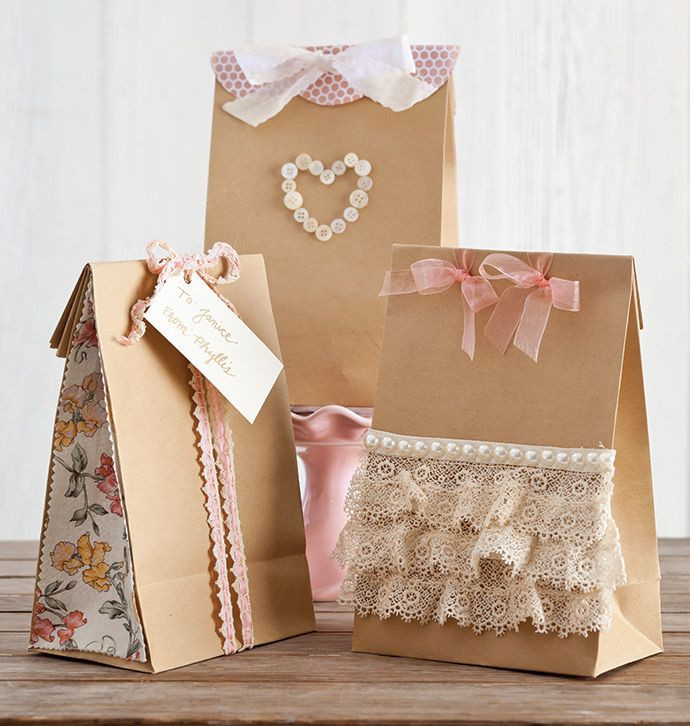 Best ideas about Valentine Gift Bags Ideas . Save or Pin Pretty in Pink Valentine s Day Crafts Now.