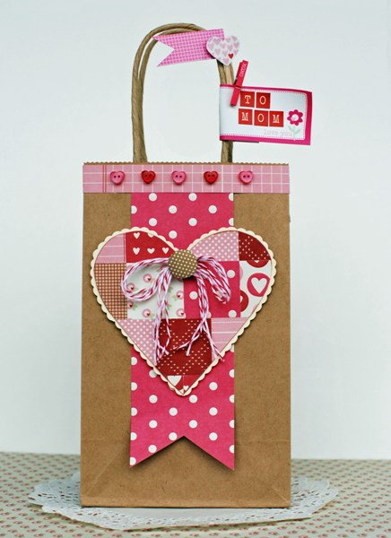 Best ideas about Valentine Gift Bags Ideas . Save or Pin My Scrappy Life January 2012 Now.