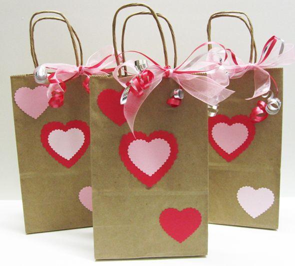 Best ideas about Valentine Gift Bags Ideas . Save or Pin 37 best images about Valentine Gift Bags on Pinterest Now.