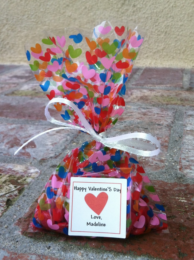 Best ideas about Valentine Gift Bags Ideas . Save or Pin 17 Best images about Valentine s day on Pinterest Now.