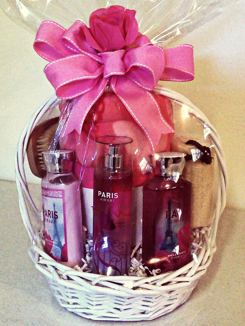 "Best ideas about Valentine'S Day Gift Basket Ideas . Save or Pin Scentsational ""Paris"" Bath & Body works spa themed t Now."