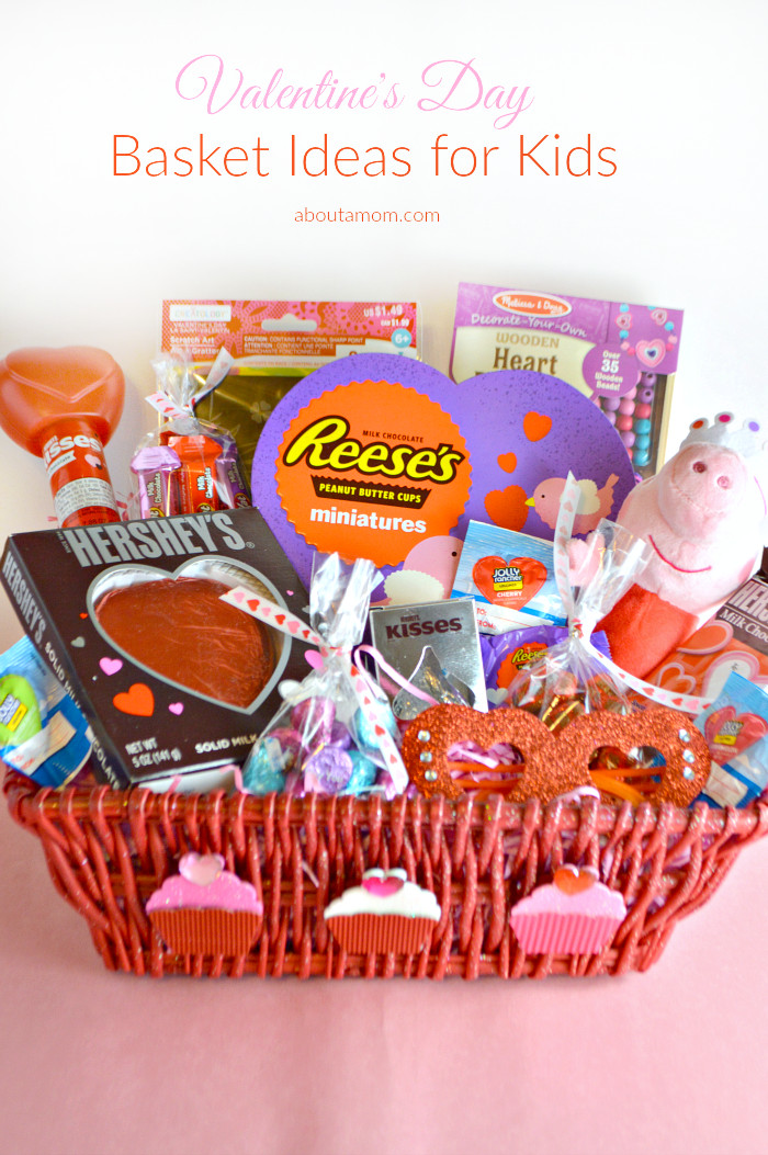 Best ideas about Valentine'S Day Gift Basket Ideas . Save or Pin Valentine s Day Basket Ideas for Kids About A Mom Now.