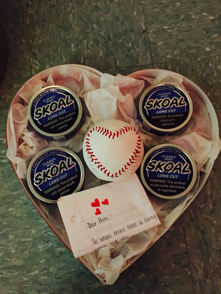 Best ideas about Valentines Boyfriend Gift Ideas . Save or Pin Valentine s Day t for him baseball girlfriend Now.