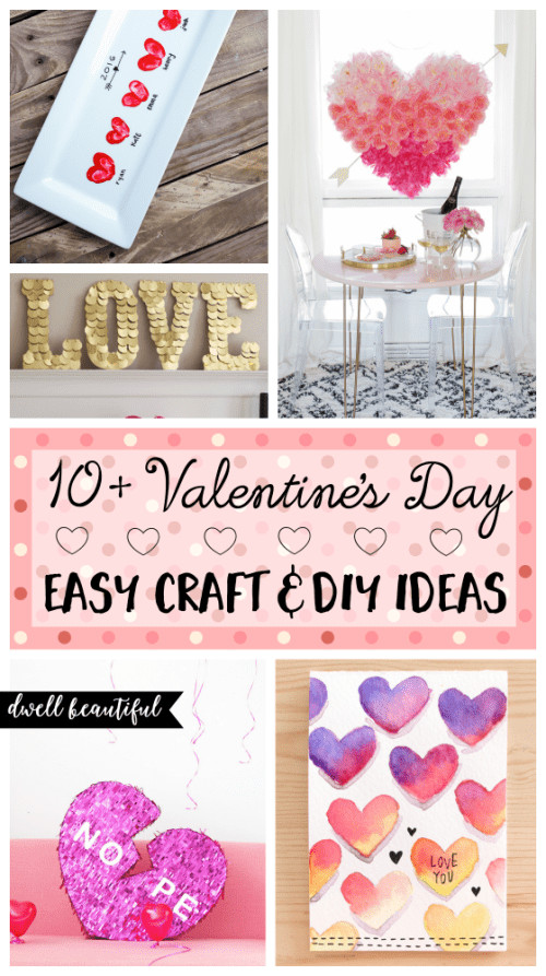 Best ideas about Valentines Craft Ideas For Adults . Save or Pin 10 Easy Valentine s Day DIY Craft Ideas for Adults Now.