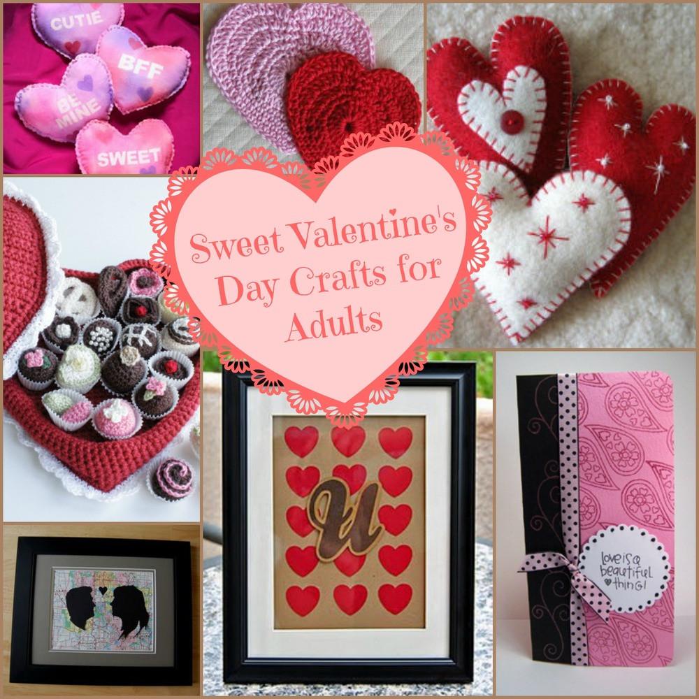 Best ideas about Valentines Craft Ideas For Adults . Save or Pin 32 Valentines Crafts for Adults Making Valentine Crafts Now.