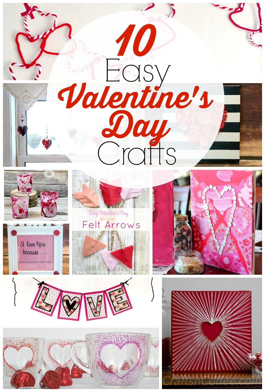 Best ideas about Valentines Craft Ideas For Adults . Save or Pin 10 Easy Valentine's Day Crafts for Adults Now.