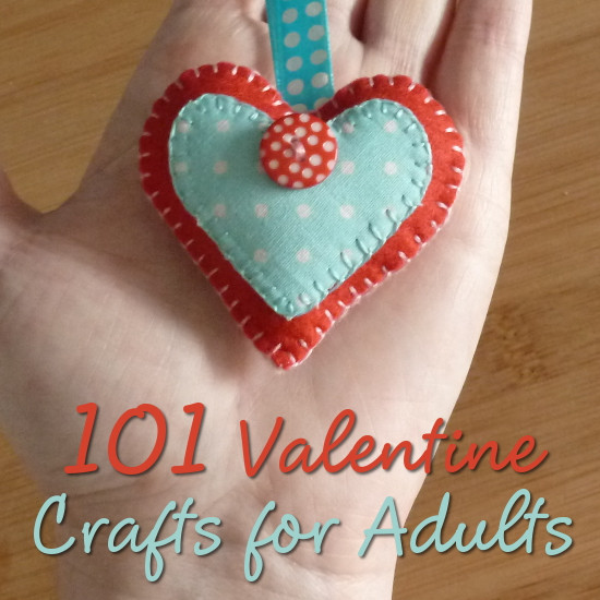 Best ideas about Valentines Craft Ideas For Adults . Save or Pin 101 Valentine s Day Crafts for Adults for 2018 Now.