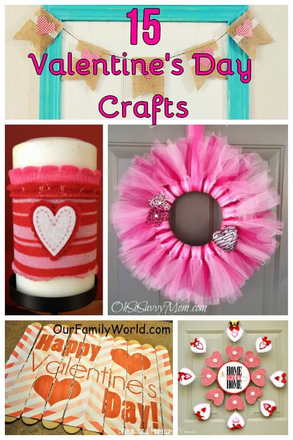 Best ideas about Valentines Craft Ideas For Adults . Save or Pin 15 Easy Valentine s Day Crafts Our Family World Now.