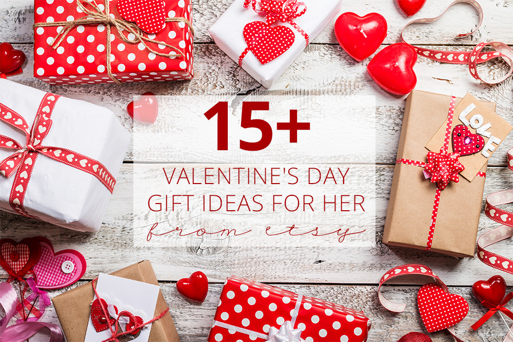 Best ideas about Valentines Gift For Her Ideas . Save or Pin 15 Valentine s Day Gift Ideas for Her From Etsy Now.