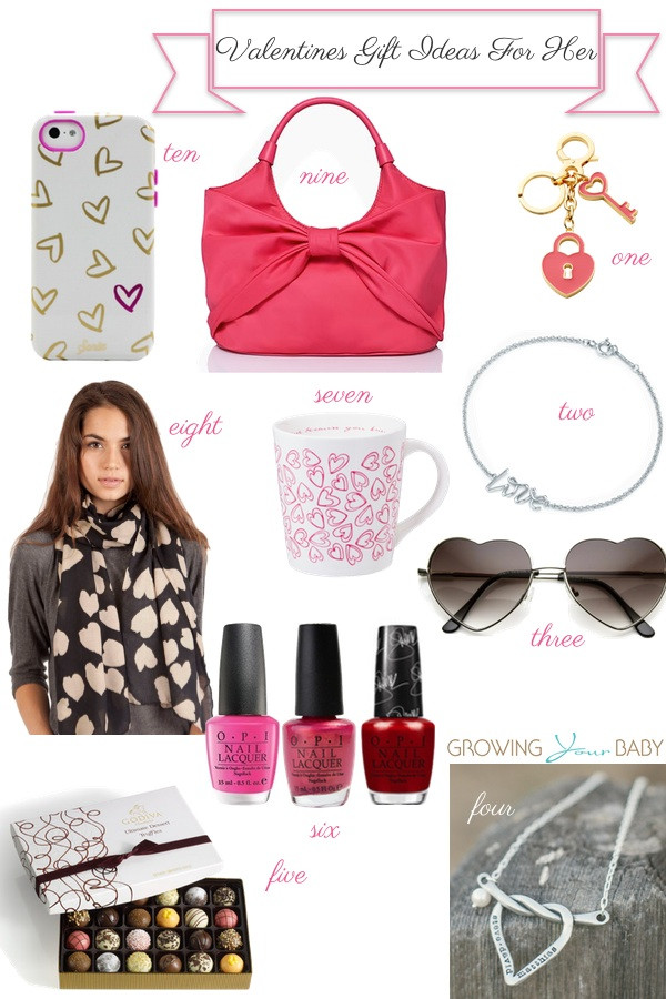 Best ideas about Valentines Gift For Her Ideas . Save or Pin 10 Valentine's Gift Ideas For Her Now.