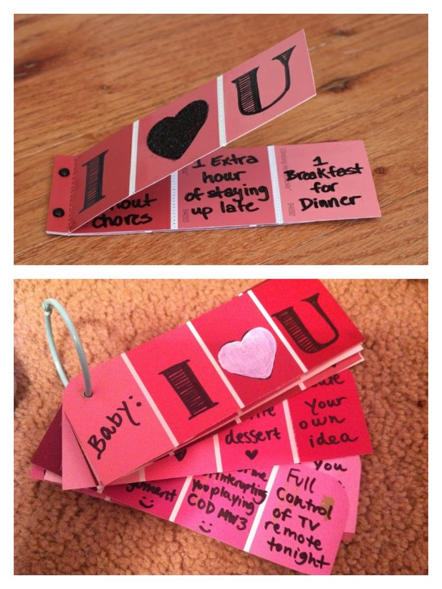 Best ideas about Valentines Gift Ideas For Boyfriend . Save or Pin Handmade Valentine s Day Inspiration Kyle Now.