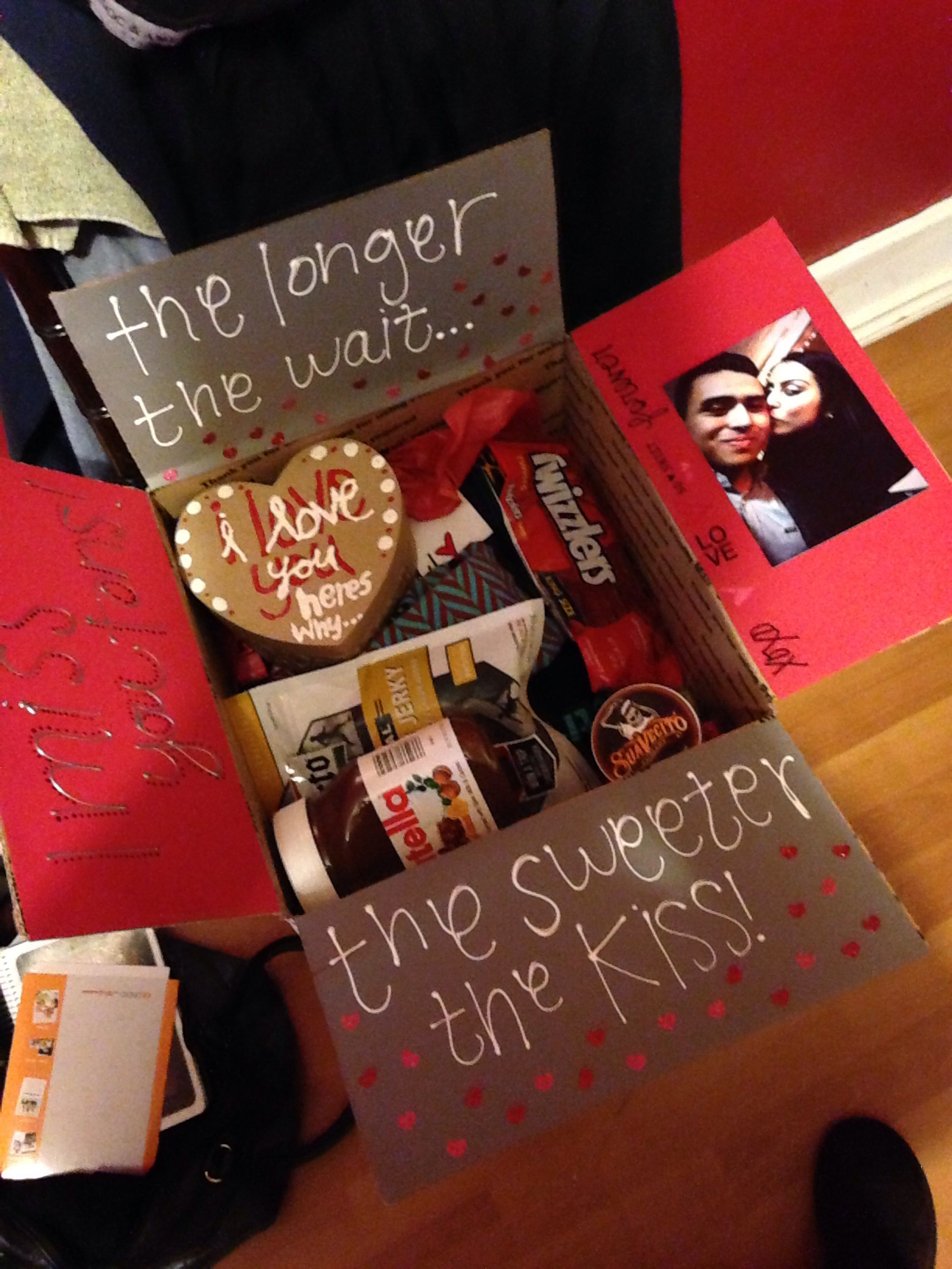 Best ideas about Valentines Gift Ideas For Boyfriend . Save or Pin Military valentines day package Now.