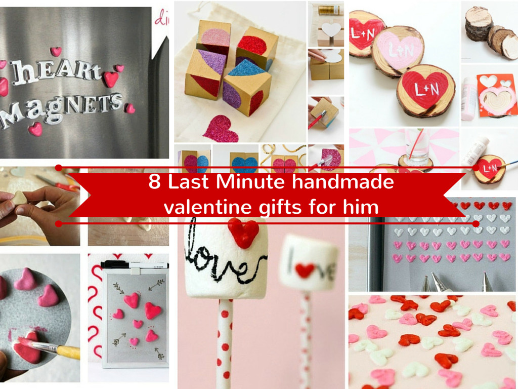 Best ideas about Valentines Gift Ideas For Him Homemade . Save or Pin 17 Last Minute Handmade Valentine Gifts for Him Now.