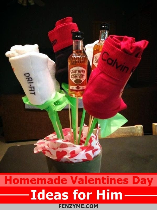 Best ideas about Valentines Gift Ideas For Him Homemade . Save or Pin Best 25 Homemade valentines ts for him ideas on Now.
