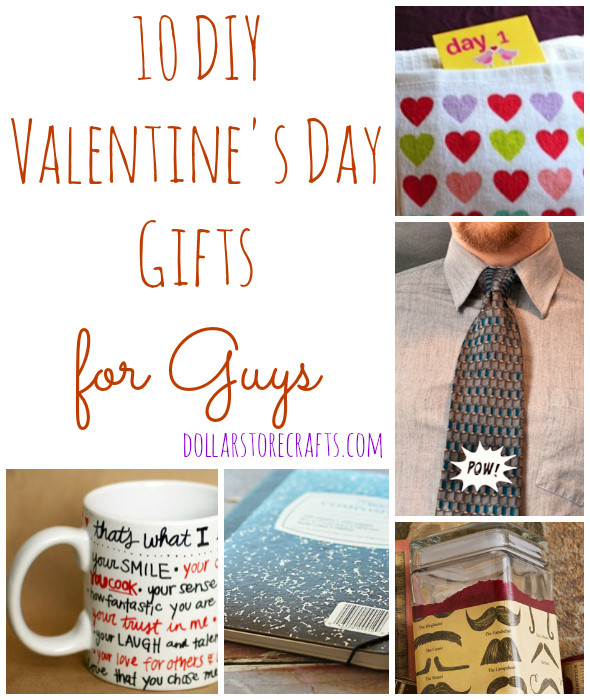 Best ideas about Valentines Gift Ideas For Husbands . Save or Pin 10 DIY Valentine s Day Gifts for Guys Dollar Store Crafts Now.