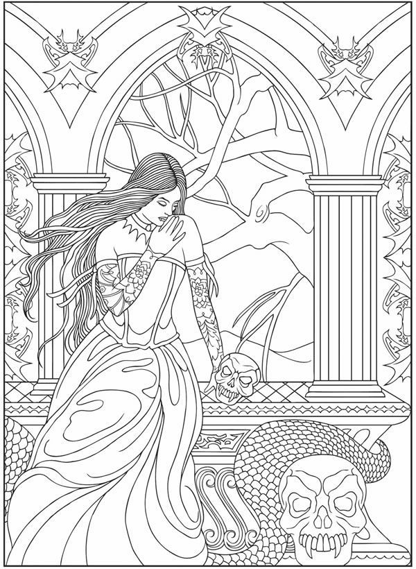 Best ideas about Vampire Coloring Pages For Adults . Save or Pin Free coloring pages of vampire Now.