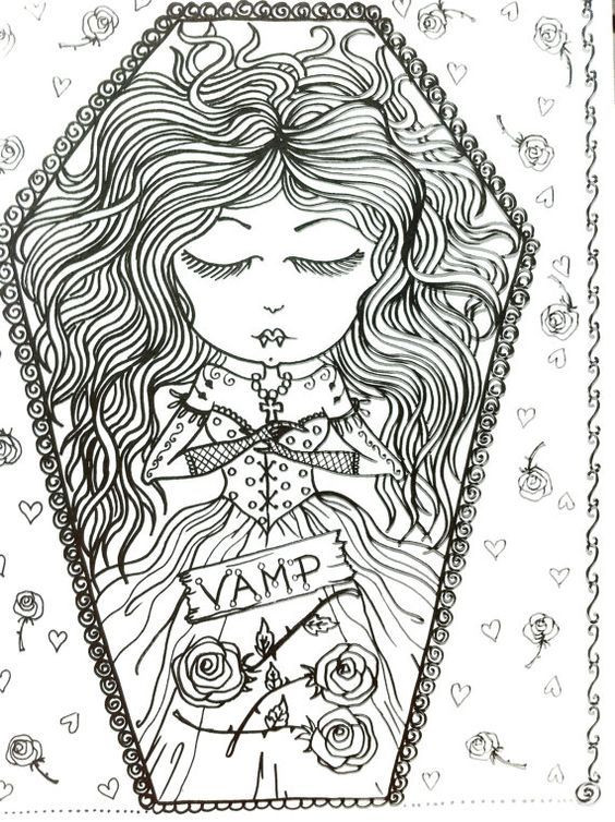 Best ideas about Vampire Coloring Pages For Adults . Save or Pin COLORING BOOK VAMPIRE Coloring Book for you to by Now.